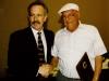 Ed Seger with SPE President, Jay Gardiner